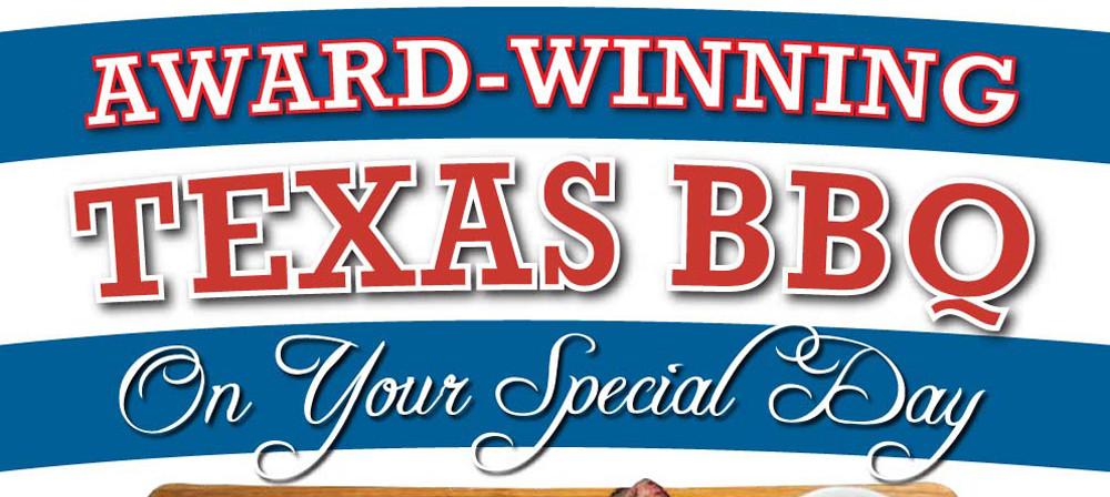 Texas BBQ Buffet Flier