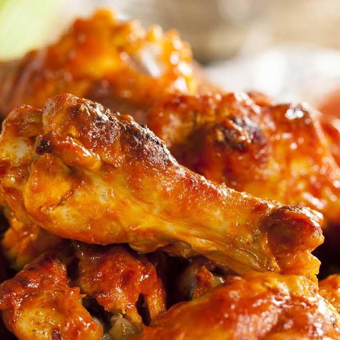 Deep Fried Buffalo Chicken Skewers Recipe — Dishmaps